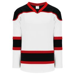 H7500 Select Hockey Jersey - White/Black/Red
