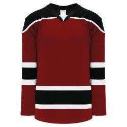 H7500 Select Hockey Jersey - Av Red/Black/White