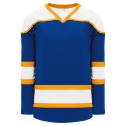 H7500 Select Hockey Jersey - Royal/White/Gold