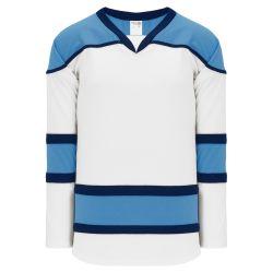 H7500 Select Hockey Jersey - White/Sky/Navy