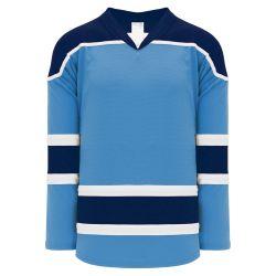 H7500 Select Hockey Jersey - Sky/White/Navy