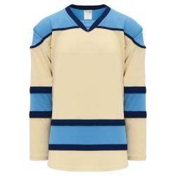 H7500 Select Hockey Jersey - Sand/Navy/Sky