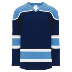 H7500 Select Hockey Jersey - Navy/Sky/White