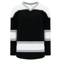 H7500 Select Hockey Jersey - Black/Grey/White