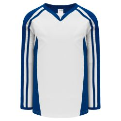 H7600 Select Hockey Jersey - White/Royal