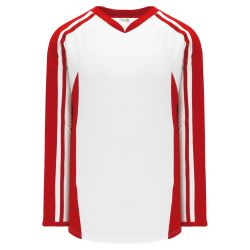 H7600 Select Hockey Jersey - White/Red