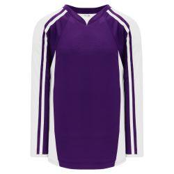 H7600 Select Hockey Jersey - Purple/White