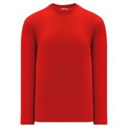 S1900 Soccer Long Sleeve Shirt - Red