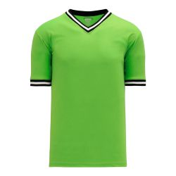 V1333 Volleyball Jersey - Lime Green/Black/White