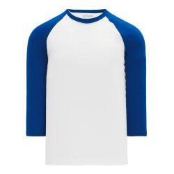 V1846 Volleyball Jersey - White/Royal