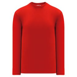 V1900 Volleyball Long Sleeve Shirt - Red