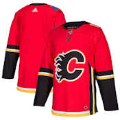 Pro Customized - ANY NAME - Adidas Authentic Calgary Flames Jersey - Home