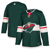 Adidas Authentic Minnesota Wild Jersey - Home