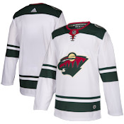 Adidas Authentic Minnesota Wild Jersey - Away