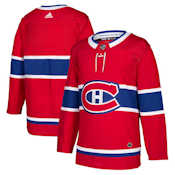 Adidas Authentic Montreal Canadiens Jersey - Home