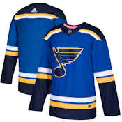 Adidas Authentic St. Louis Blues Jersey - Home