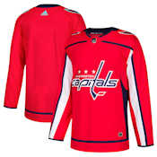 Adidas Authentic Washington Capitals Jersey - Home