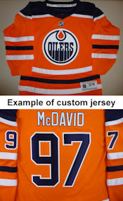 Edmonton Oilers Youth Replica Jersey - Home