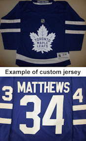 Toronto Maple Leafs Youth Replica Jersey - Home