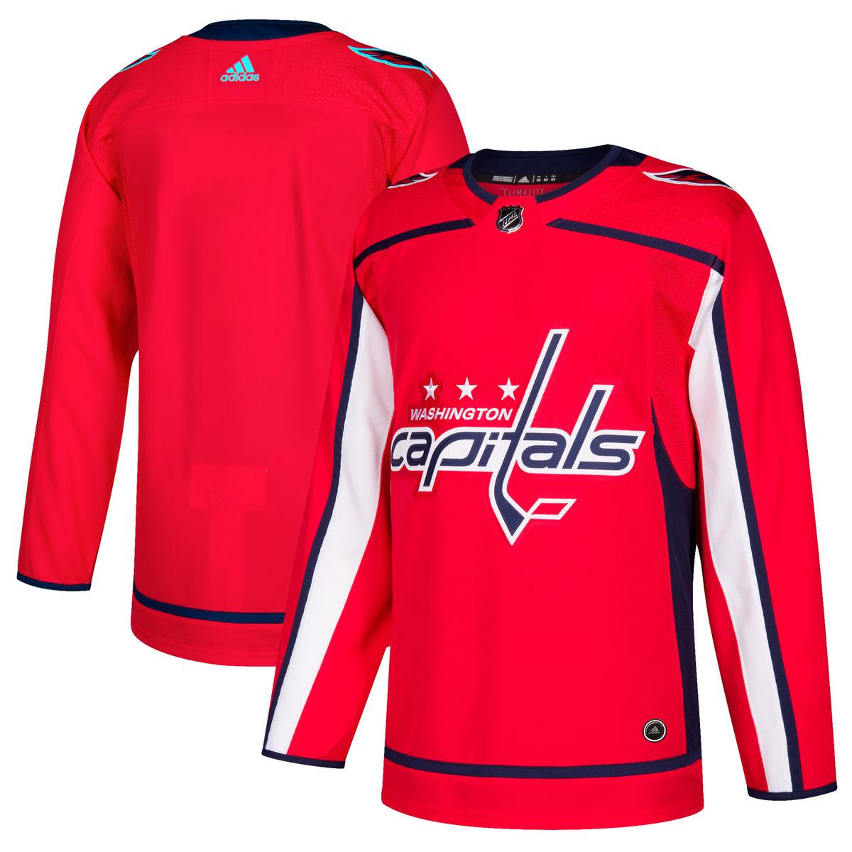 Details about Washington Capitals Jersey Home Adidas Authentic f01d511d451